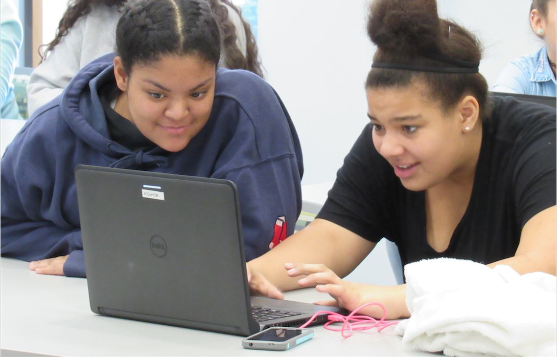 Hacking and Cybersecurity with Girls Inc. Eureka! at the MGHPCC