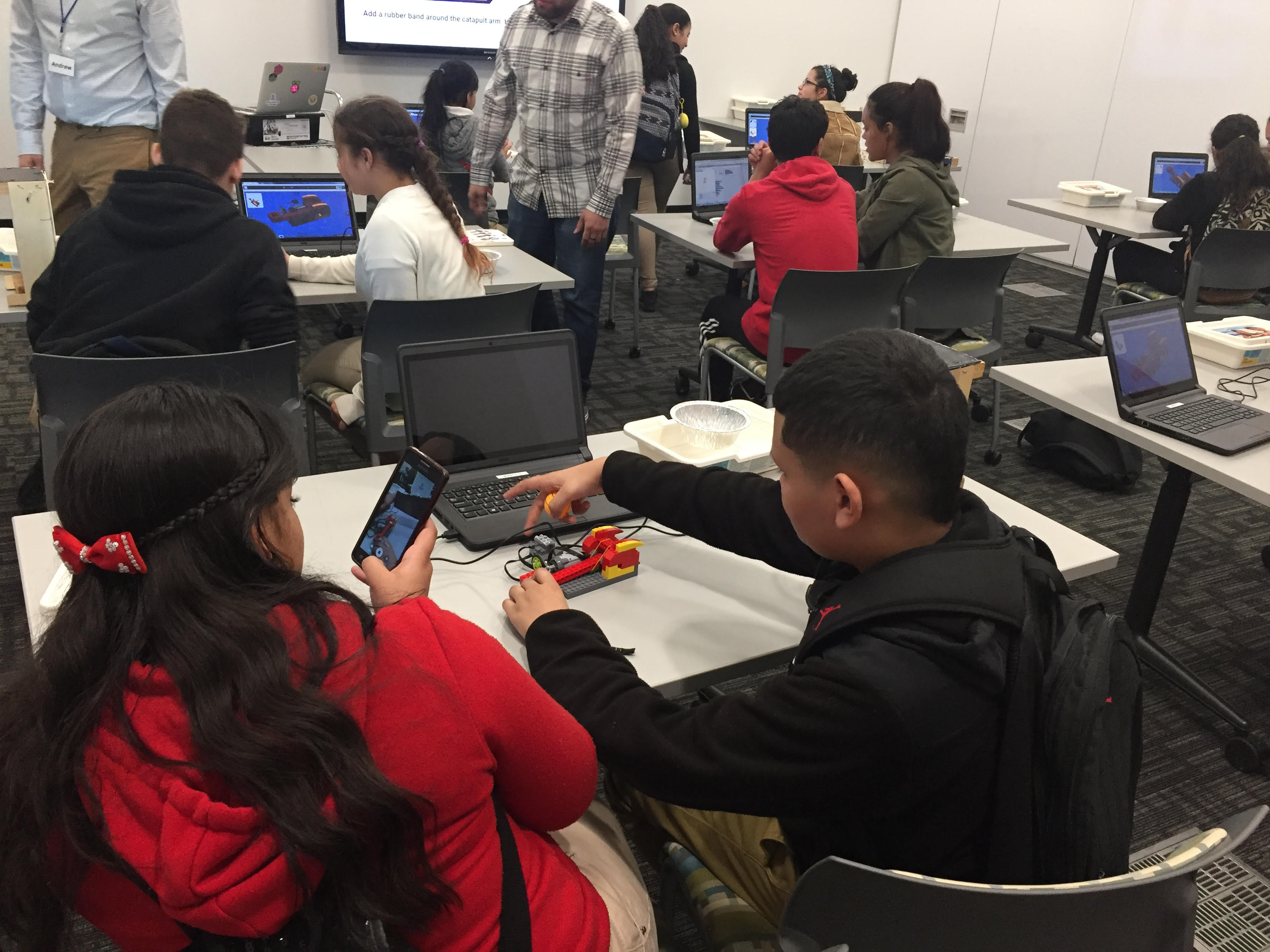 New Robotics Program for all Holyoke Public Schools eighth-grade students