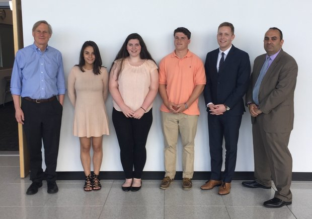 $16,000 in scholarships given to 4 Holyoke high school seniors by computing center
