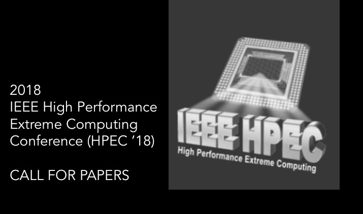HPEC '18 Call For Papers