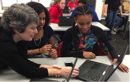 Holyoke Codes: CS Education Week Cyber Security Workshop