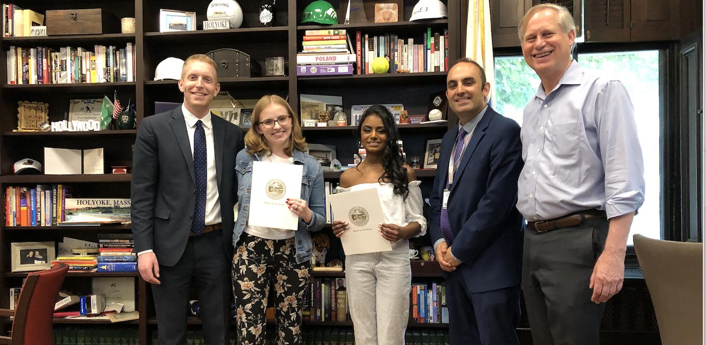 Mayor Announces Winners of MGHPCC Scholarships