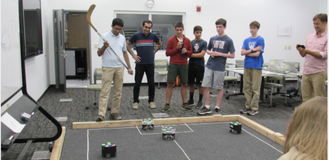 HolyokeCodes: Soccer Robots