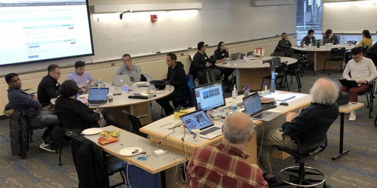 Brainstorming energy-saving hacks on Satori, MIT's new supercomputer